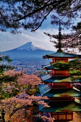 Japonya'nın en Japon manzarası