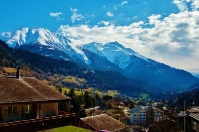 Heidi'nin evi, Peter'in yeri, İsviçre Alpleri